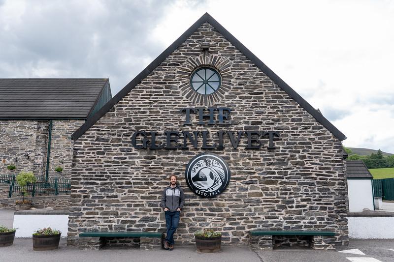 Elliot at The Glenlivet Distillery