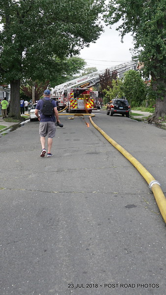Bridgeport (CT) House Fire on Wilmot Avenue