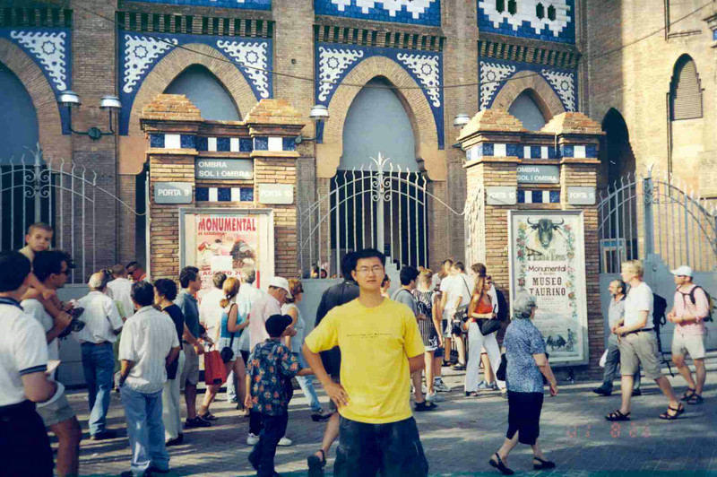 Me in front of Bull Fight Arena.jpg