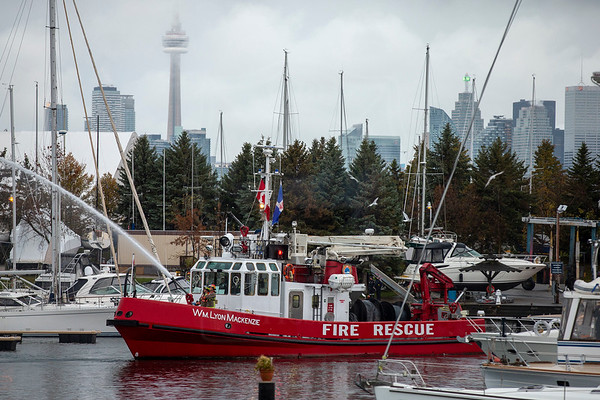 October 28, 2018 - 2nd Alarm - Outer Harbour Marina