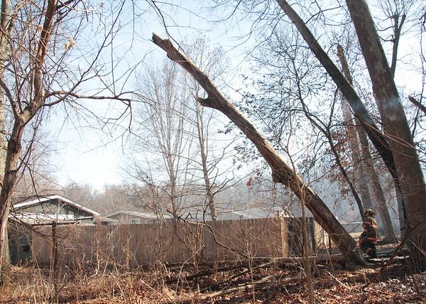 2021 Brush Fire Hickory Hills