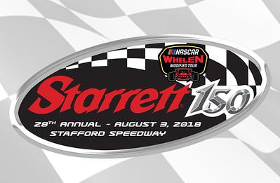 Starrett 150-Stafford Speedway- 8-3-18