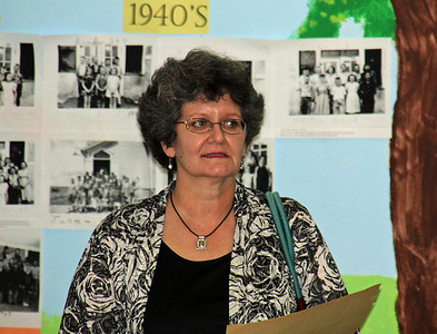 Another alumnus from the 1950's and '60's....Vicki Connell.
