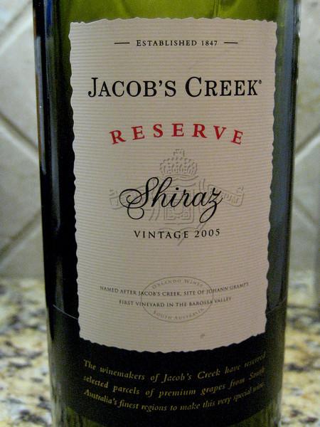 Jacobs Creek Reserve 2005