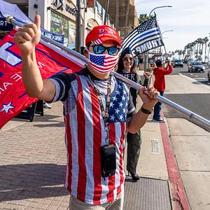 Trump Rally Huntington Beach 11-21-20