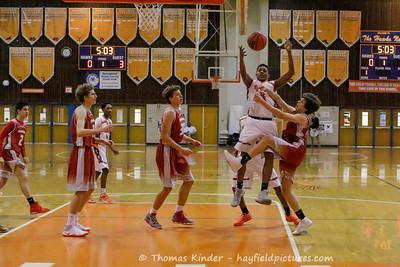 Boys JV Basketball vs McLean 1/24/17