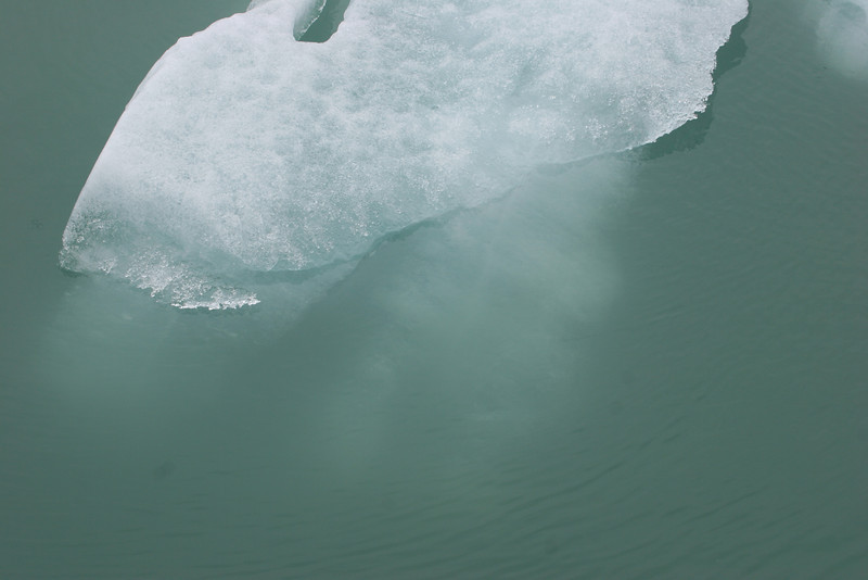much of this ice is below surface