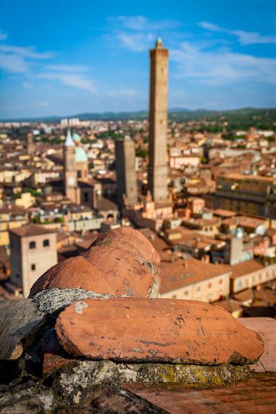 Bologna aus 60m Höhe / Bologna from 60m above ground