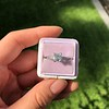 1.19ct Art Deco Carre Cut Diamond Solitaire 22