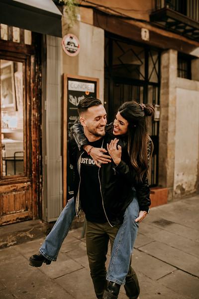 Alex y Laura Barcelona