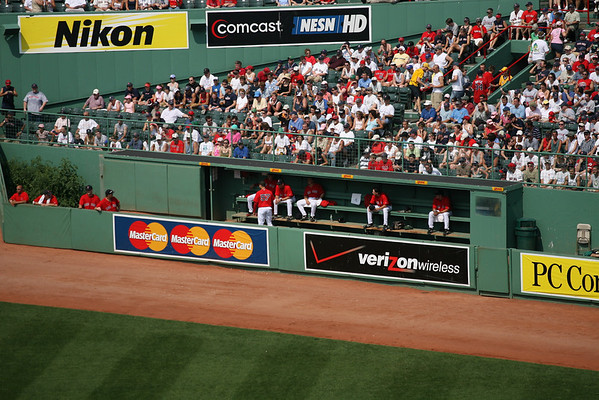 Red Sox Sec. 40 Row 9