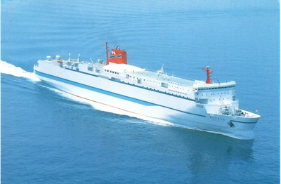 Japanese Ferries that became Greek