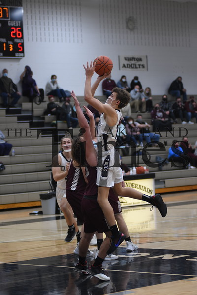LUHS Boys' Basketball vs. Antigo January 29, 2021