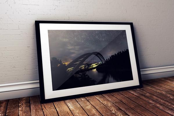 Flaming Gorge Reservoir Framed Mockups