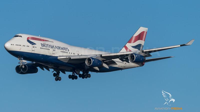 British Airways / Boeing B747-436 / G-CIVA