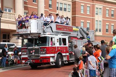 Firemans Parade - Kannapolis, NC - 9/29/18