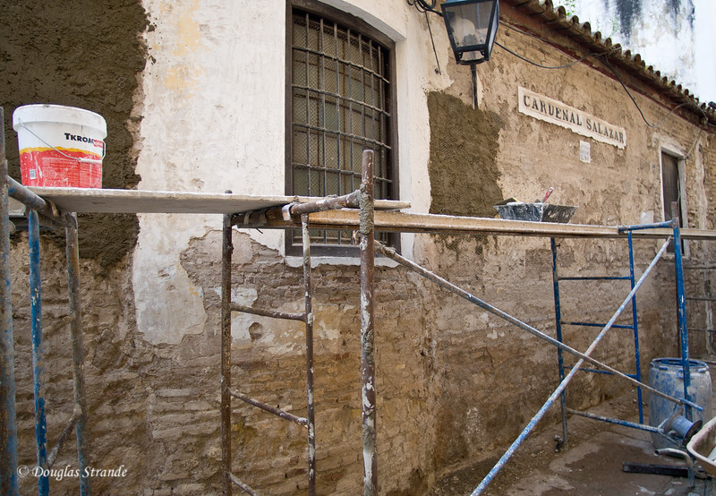Thur 3/10 in Cordoba: Time for renovations
