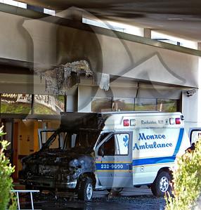 Ambulance Fire - Greece, NY 6/21/10