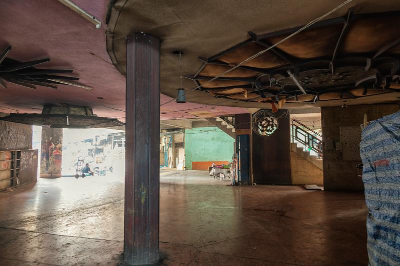 the abandoned Paris Theatre, Bangkok, Thailand
