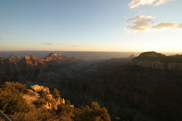Grand Canyon Sunset from North Rim