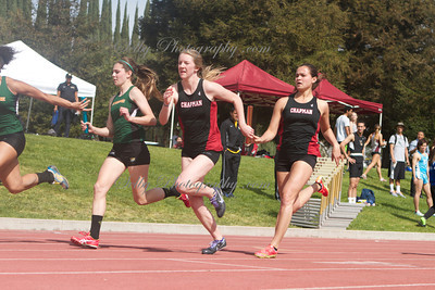Chapman University  Rossi relays