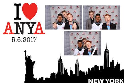 Anya Photo booth prints