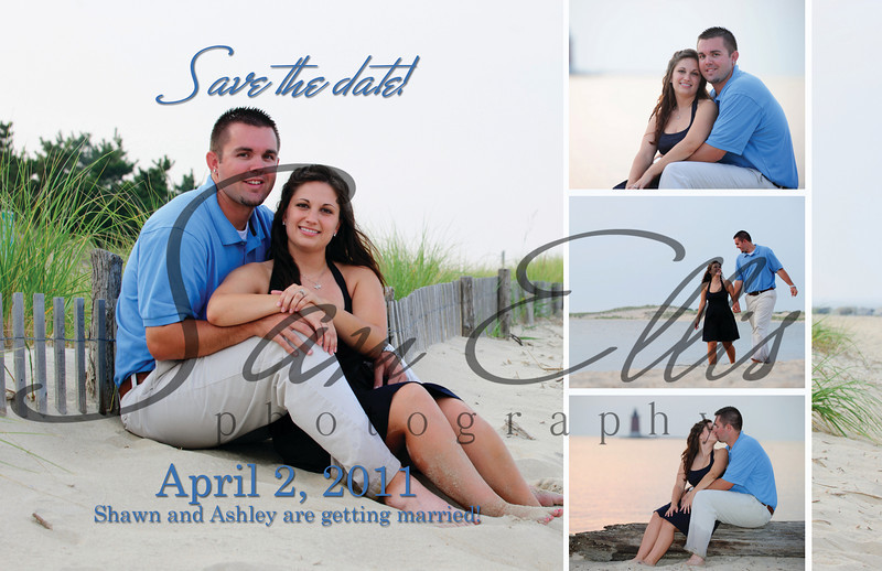 Mocella Phillips Save the Date Cards