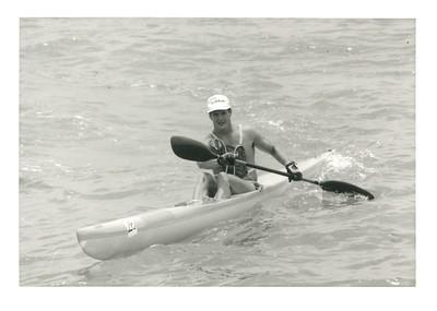 1990 OCC Makai Pier to Kewalo Basin Kayak Race 4-29-1990