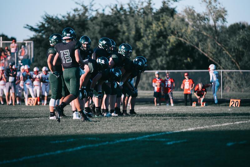 Holy Family Varsity Football vs. Mound Westonka, 8/29/19