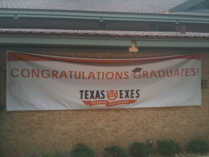 Welcome grads, you are now Texas Exes!