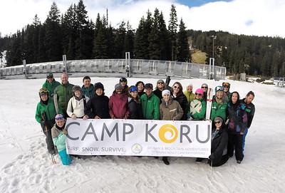 Camp 16 Snow Oregon