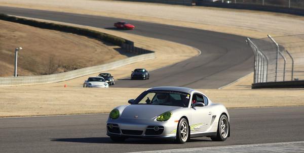 Yellow light Porsche