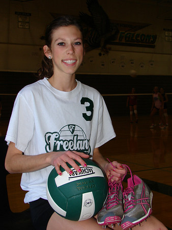 Freeland volleyball features
