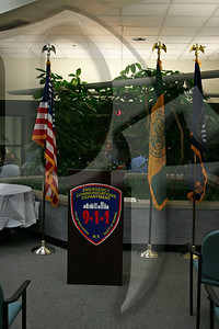 Monroe County 9-1-1 Center 25th Anniversary Ceremony