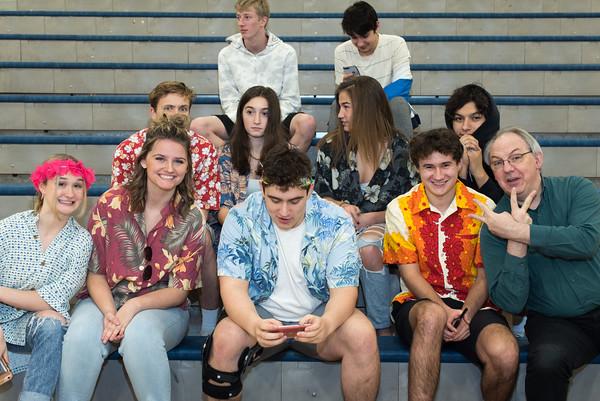 2020 Boys Varsity Basketball vs Parkrose - Senior Night