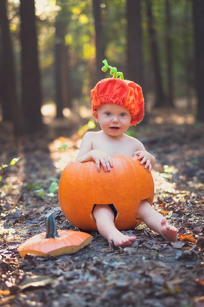 Our Little Pumkin is One