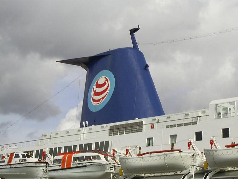 2007 - SKY WONDER in Napoli : the funnel.