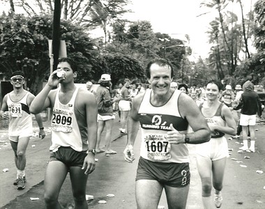 15th Annual Honolulu Marathon 12-13-1987