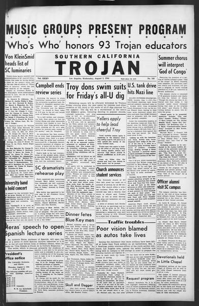 The Trojan, Vol. 35, No. 145, August 02, 1944