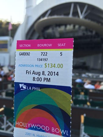 8-8-2014 Hollywood Bowl and Tokirios