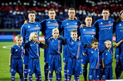 Ísland Finnland 6. október 2016