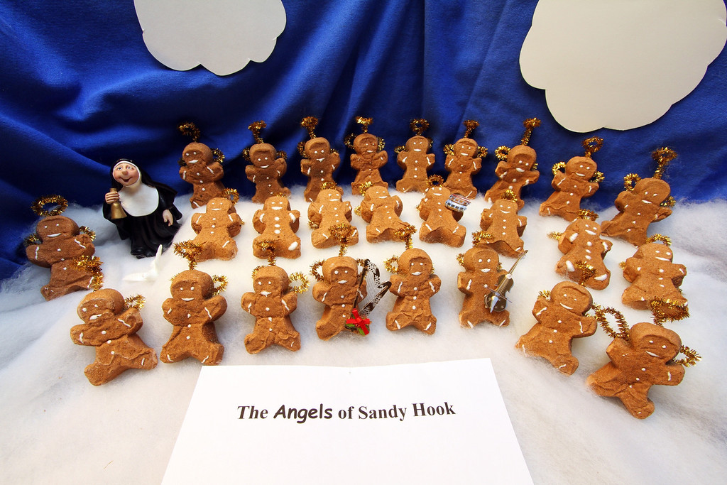 ". ""PEEPS Remembering Sandy Hook,\"" by Margie Born, Shoreview"