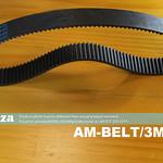 SKU: AM-BELT/3M/384, 384-3M Timing Belt, Closed-loop 3M Pitch Elastomeric Timing Belt 384mm