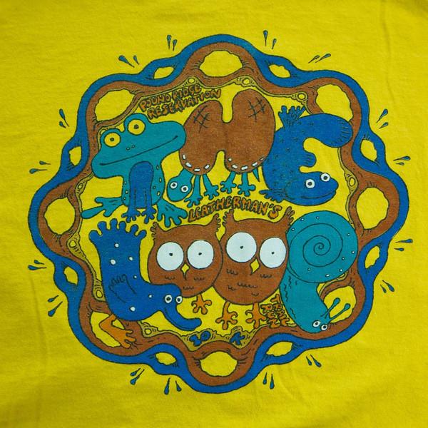 2000 Shirt - Tim Parshall - yellow