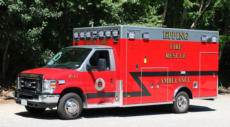 Ambulance 3.  2018 Ford E-450 / PL Custom