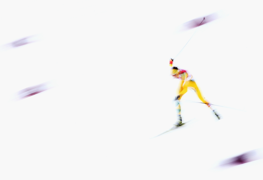 . Vytautas Strolia of  Lithuania competes during the Cross Country Men\'s Sprint Free during the Sochi 2014 Winter Olympics at Laura Cross-country Ski & Biathlon Center on February 11, 2014 in Sochi, Russia.  (Photo by Ryan Pierse/Getty Images)