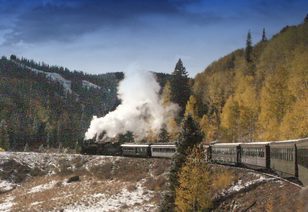 Colorado & Antonito CO Train Rides