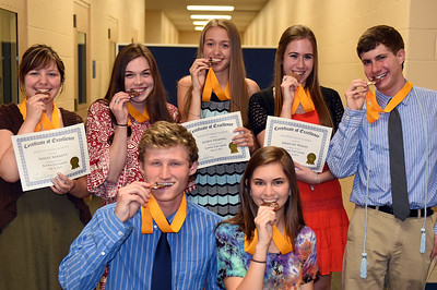 Senior Academic Awards Night (5/18/2015)