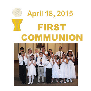 First Communion 2015 - St. Thomas More Newman Parish