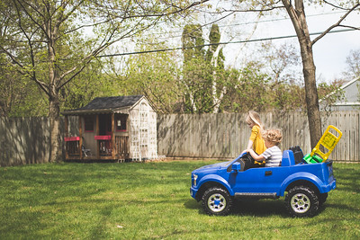 Playdate and Jeep